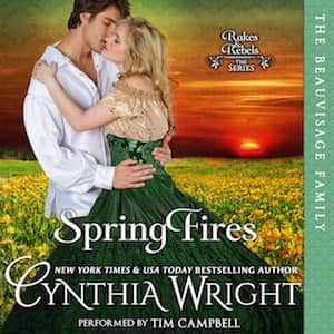 Spring Fires audiobook by Cynthia Wright