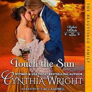 Touch the Sun audiobook by Cynthia Wright