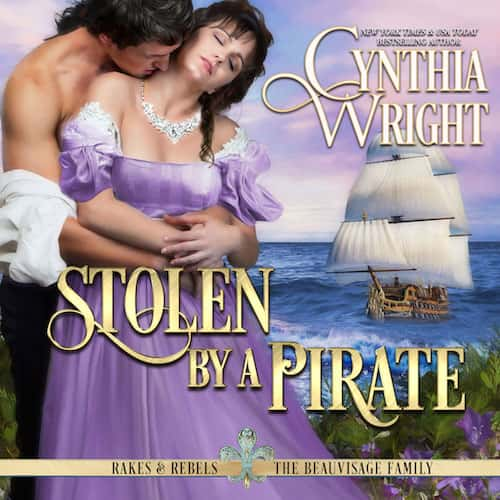 Stolen By A Pirate audiobook by Cynthia Wright